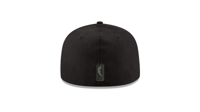 BROOKLYN NETS BLACK ON BLACK 59FIFTY FITTED