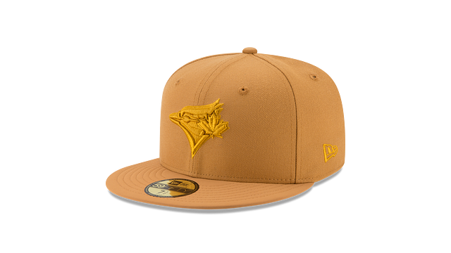 TORONTO BLUE JAYS TAN NUBUCK 59FIFTY FITTED