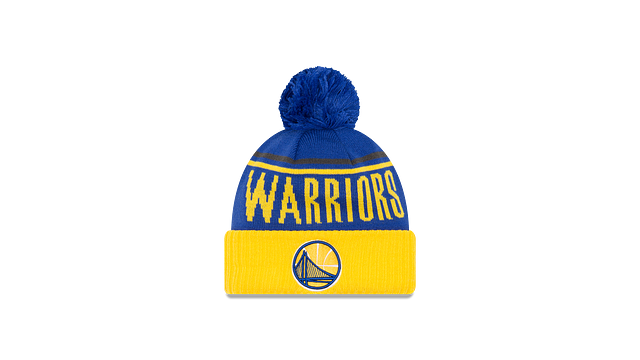 GOLDEN STATE WARRIORS JUMBO CHEER KNIT Front view