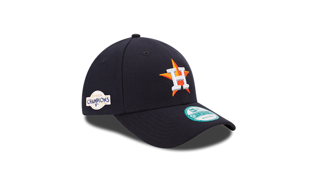KIDS HOUSTON ASTROS DIVISION CHAMPIONS SIDE PATCH 9FORTY ADJUSTABLE