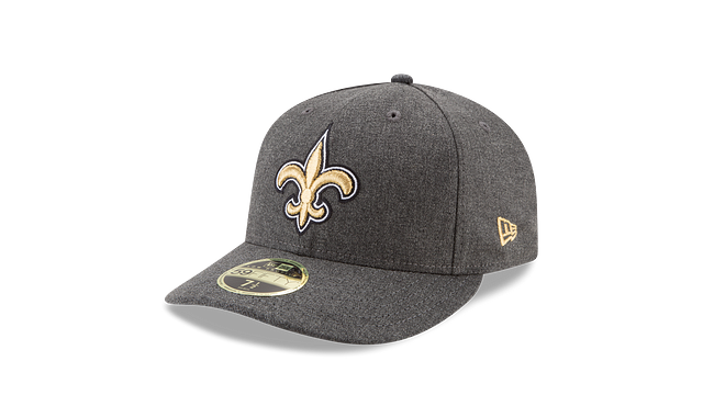 NEW ORLEANS SAINTS CRAFTED IN THE USA LOW PROFILE 59FIFTY FITTED