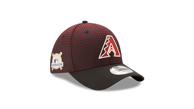 ARIZONA DIAMONDBACKS POSTSEASON SIDE PATCH 39THIRTY STRETCH FIT