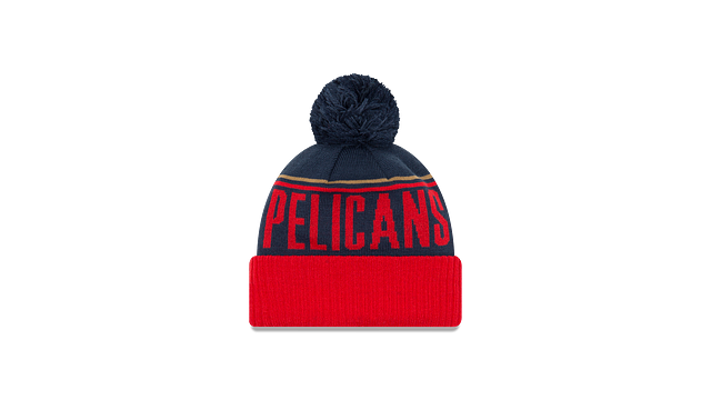 NEW ORLEANS PELICANS JUMBO CHEER KNIT Rear view