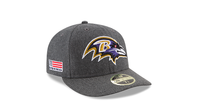BALTIMORE RAVENS CRAFTED IN THE USA LOW PROFILE 59FIFTY FITTED