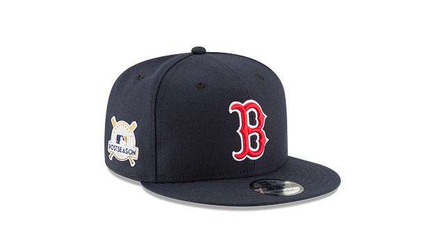 BOSTON RED SOX POSTSEASON SIDE PATCH 9FIFTY SNAPBACK