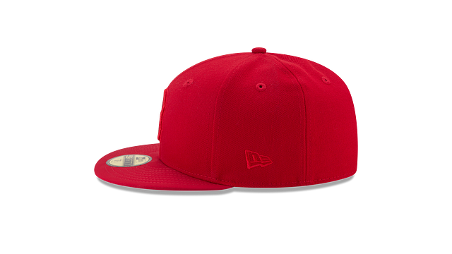 BOSTON RED SOX SCARLET NUBUCK 59FIFTY FITTED