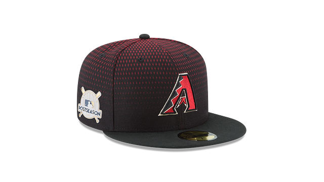ARIZONA DIAMONDBACKS POSTSEASON SIDE PATCH AC 59FIFTY FITTED