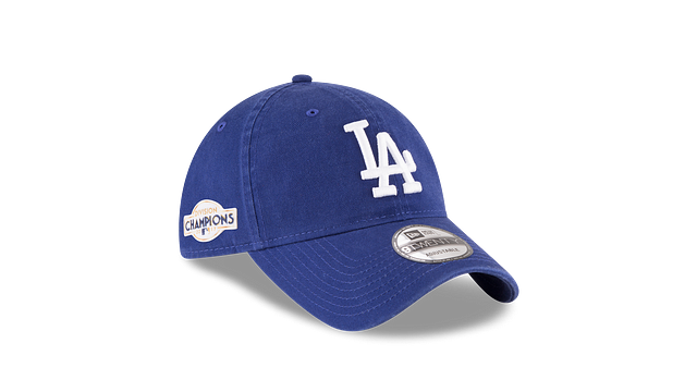 LOS ANGELES DODGERS DIVISION CHAMPIONS SIDE PATCH 9TWENTY ADJUSTABLE