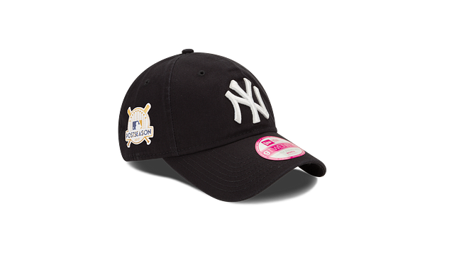 WOMENS NEW YORK YANKEES POSTSEASON SIDE PATCH 9TWENTY ADJUSTABLE
