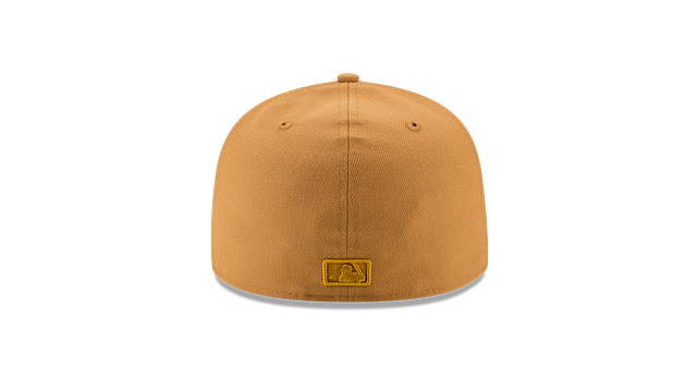 DETROIT TIGERS TAN NUBUCK 59FIFTY FITTED