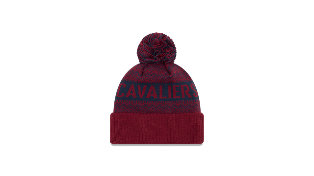 CLEVELAND CAVALIERS WINTRY POM KNIT Rear view