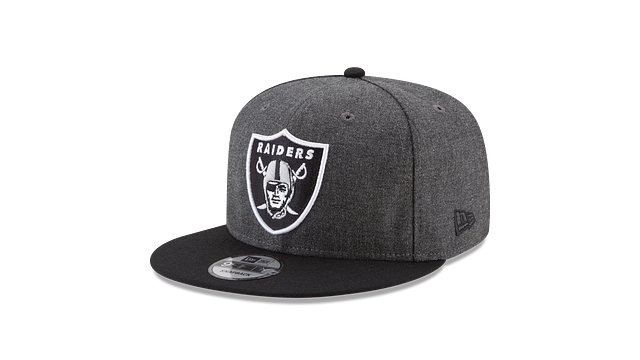 OAKLAND RAIDERS CRAFTED IN THE USA - BLACK 9FIFTY SNAPBACK