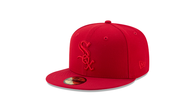 CHICAGO WHITE SOX SCARLET NUBUCK 59FIFTY FITTED