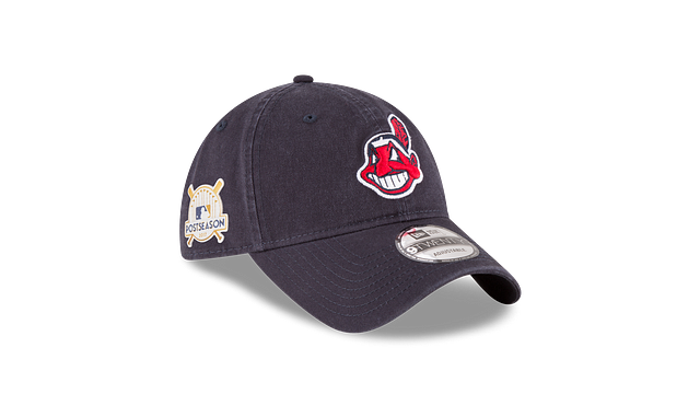 CLEVELAND INDIANS POSTSEASON SIDE PATCH 9TWENTY ADJUSTABLE