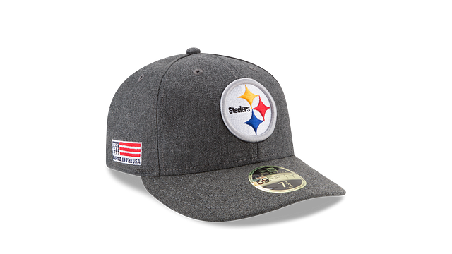 PITTSBURGH STEELERS CRAFTED IN THE USA LOW PROFILE 59FIFTY FITTED