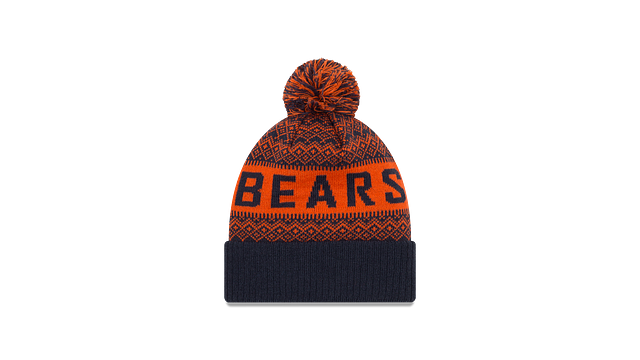 CHICAGO BEARS WINTRY POM KNIT Rear view