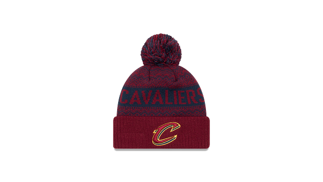 CLEVELAND CAVALIERS WINTRY POM KNIT Front view