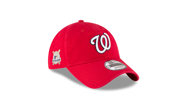 WASHINGTON NATIONALS POSTSEASON SIDE PATCH 9TWENTY ADJUSTABLE