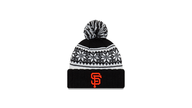 WOMENS SAN FRANCISCO GIANTS SNOWY POM KNIT