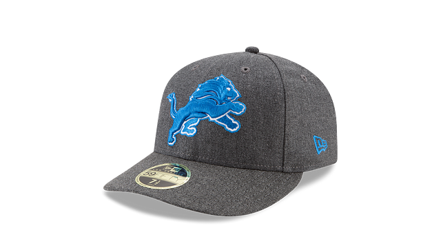 DETROIT LIONS CRAFTED IN THE USA LOW PROFILE 59FIFTY FITTED