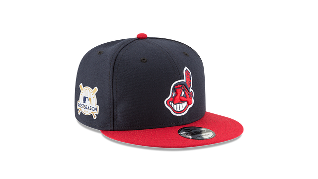 CLEVELAND INDIANS POSTSEASON SIDE PATCH 9FIFTY SNAPBACK
