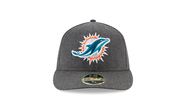 MIAMI DOLPHINS CRAFTED IN THE USA LOW PROFILE 59FIFTY FITTED