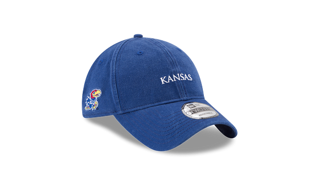 KANSAS JAYHAWKS SOLID TEAM HIT 9TWENTY ADJUSTABLE