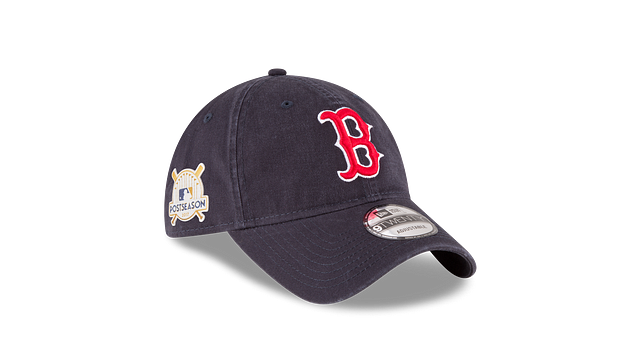 BOSTON RED SOX POSTSEASON SIDE PATCH 9TWENTY ADJUSTABLE