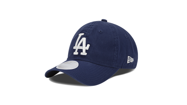 WOMENS LOS ANGELES DODGERS POSTSEASON SIDE PATCH 9TWENTY ADJUSTABLE 3 quarter left view