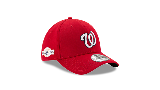WASHINGTON NATIONALS DIVISION CHAMPIONS SIDE PATCH 39THIRTY STRETCH FIT