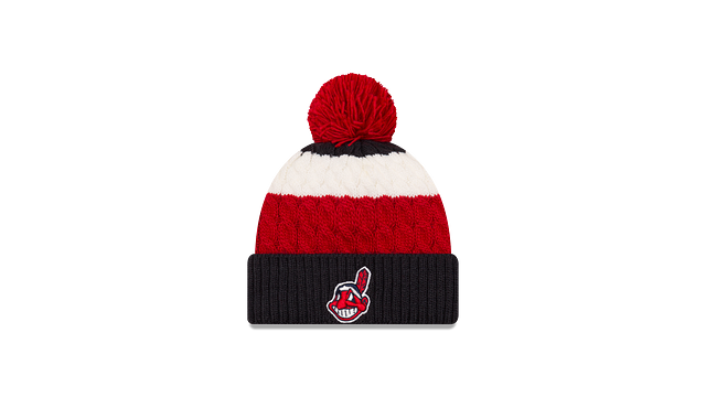 WOMENS CLEVELAND INDIANS LAYERED UP KNIT