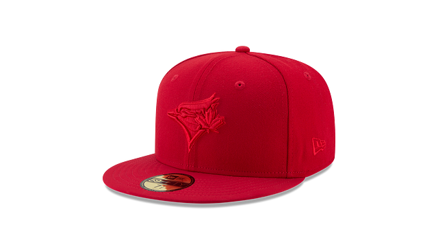 TORONTO BLUE JAYS SCARLET NUBUCK 59FIFTY FITTED