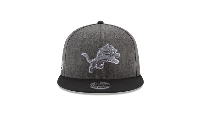 DETROIT LIONS CRAFTED IN THE USA - BLACK 9FIFTY SNAPBACK