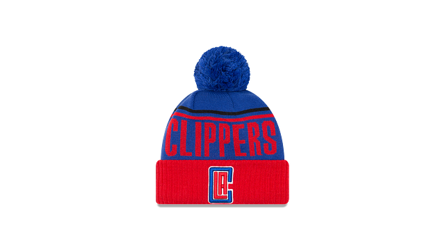 LOS ANGELES CLIPPERS JUMBO CHEER KNIT Front view