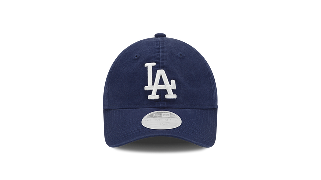 WOMENS LOS ANGELES DODGERS POSTSEASON SIDE PATCH 9TWENTY ADJUSTABLE Front view