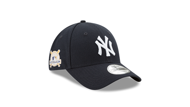 NEW YORK YANKEES POSTSEASON SIDE PATCH 9FORTY ADJUSTABLE