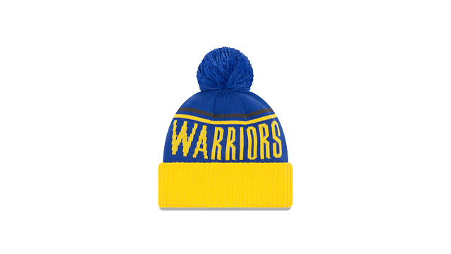 GOLDEN STATE WARRIORS JUMBO CHEER KNIT Rear view