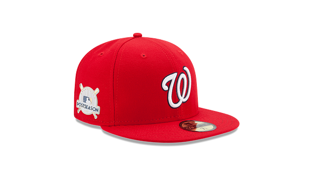 WASHINGTON NATIONALS POSTSEASON SIDE PATCH AC 59FIFTY FITTED