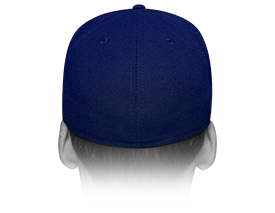 New Era Cap 59FIFTY Fitted Hats | Rear