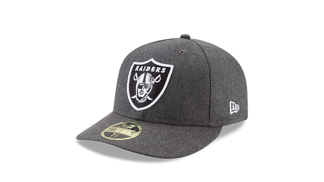 OAKLAND RAIDERS CRAFTED IN THE USA LOW PROFILE 59FIFTY FITTED