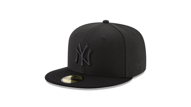 NEW YORK YANKEES BLACK NUBUCK 59FIFTY FITTED