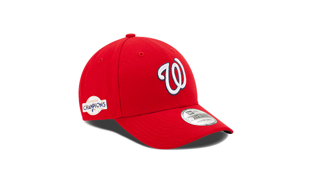 WASHINGTON NATIONALS DIVISION CHAMPIONS SIDE PATCH 9FORTY ADJUSTABLE