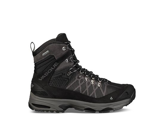 Vasque Saga GTX Hiking Shoe - Men's Jet Black/Magnet 9.5