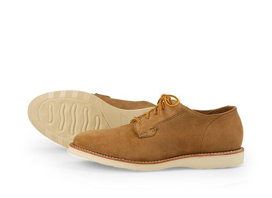 Red Wing Mens Postman Oxford 3120 Hawthorne Suede Shoes 43.5 EU 6qJhwkb