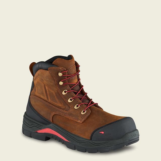 Men&#39;s 4402 Electrical Hazard Waterproof Non-Metallic Toe King  Toe<sup>