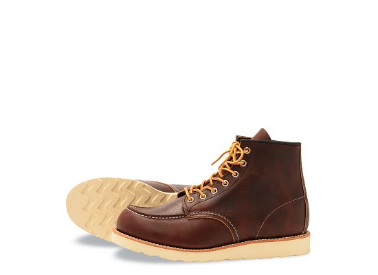 Men S 8138 Classic Moc 6 Quot Boot Red Wing Heritage