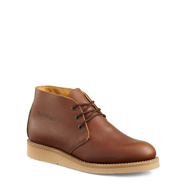 WORK CHUKKARed Wing Shoes