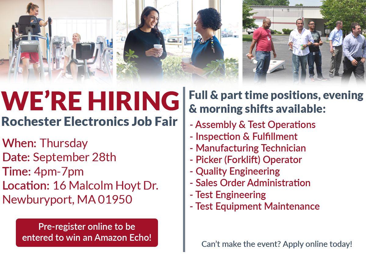 Career Fair Rochester Electronics