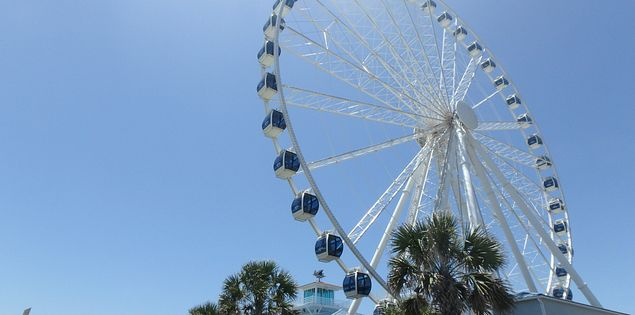 How tall is the SkyWheel in Myrtle Beach? Take a ride and see for yourself!