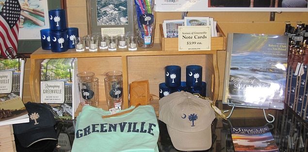 Find local goods and so much more at Mast General Store in downtown Greenville.